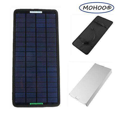 Solar Panel Charger Mohoo 18v 12v 75w Portable Solar Car Boat Power Sunpower Solar Panel Battery Charger Solar Panel Charger Solar Panel Battery Solar Charger