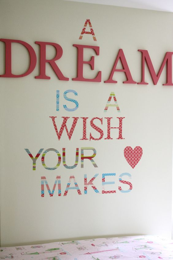 Love washi tape diy wall decals!: