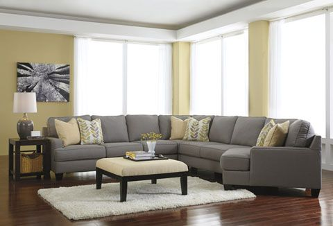 What a fun fresh look for the family to enjoy! Sectional layout can be customized to fit your space.