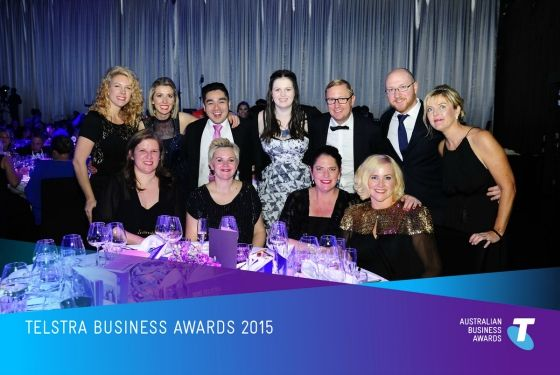 Styling You finalist in national Telstra Business Awards 2015 - the first blogger to ever win a Telstra Business Award