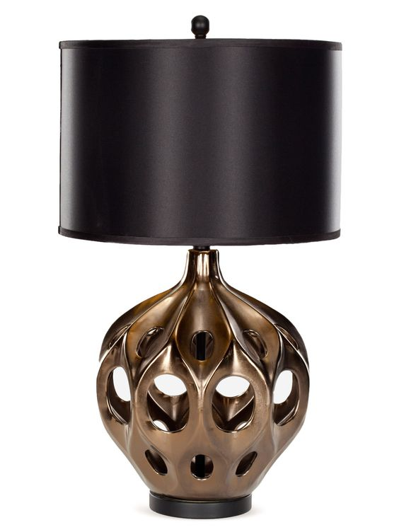 Cut Out Table Lamp by Safavieh at Gilt