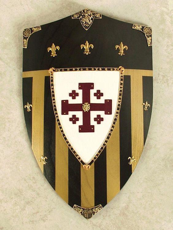 Jerusalem Shield, the emblem of the Templar Crusaders.