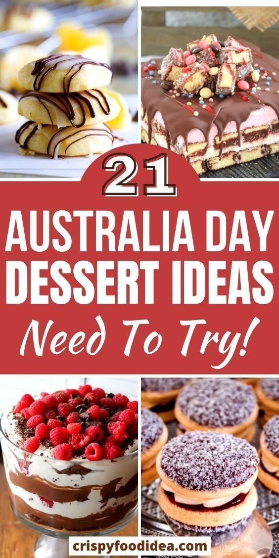 australia day desserts