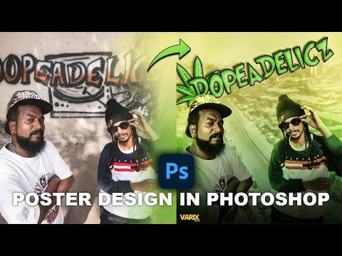 Music Poster Composition Speed Art Photoshop Varix Design Youtube Music Poster Speed Art Photoshop