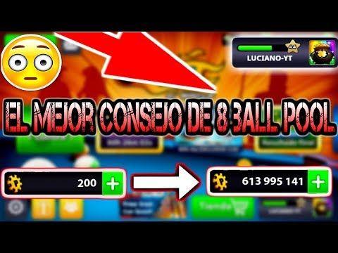 8 Ball Pool Como Ser Millonario Facil En 8 Ball Pool Youtube Juegos De Billar Buenos Amigos Pool