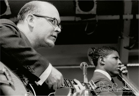 Jim Hall and Bob Cranshaw, c.1961