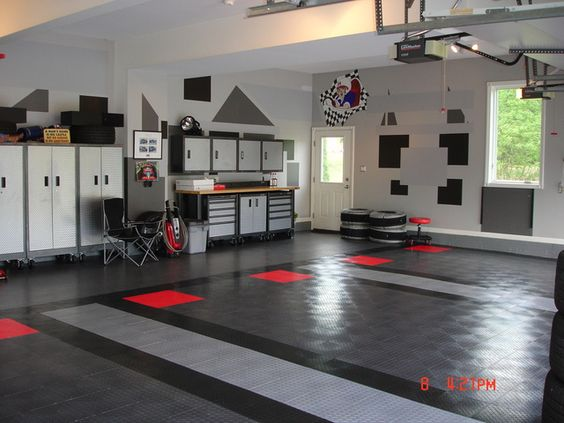 Not your typical Car Barn /Garage ..... For men who don't like to get dirty.