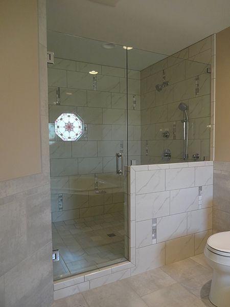 Creative Mirror Shower Of Chicago Frameless Shower Doors Enclosures Bathroom Pinterest