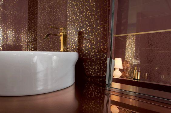 piastrelle bagno brillantini - Cerca con Google