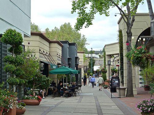Broadway Plaza Mall Walnut Creek California Flickr
