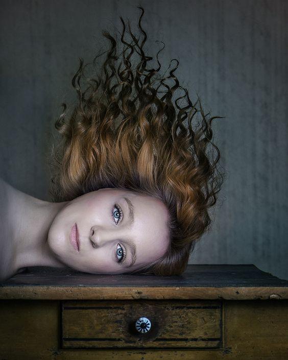 """Bloomer"" —  Photographer: Lotta van Droom - Seelengrund Fotografie Model: Michele Fietz"