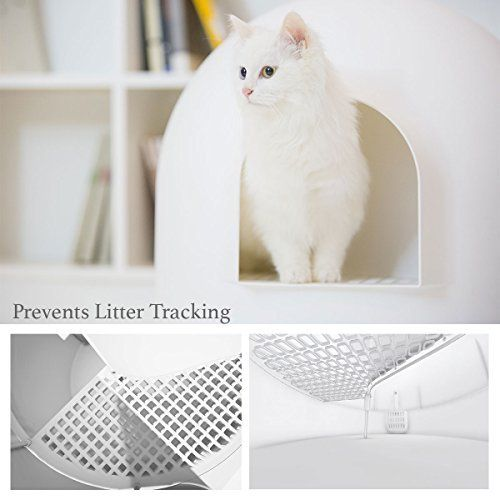 Pidan Studio Snow House Igloo Cat Litter Box Best Offer Petsep Com Cat Litter Box Litter Box Cat Litter