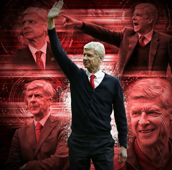 The Boss #Wenger20 #Arsenal