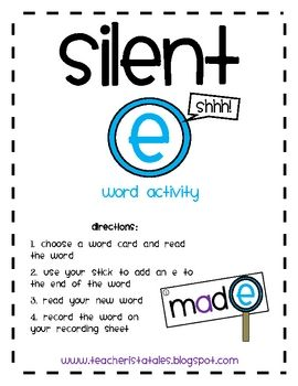 silent e center