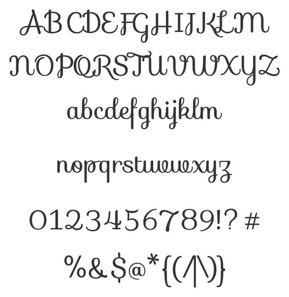 Sofia Font - Pretty font for the Silhouette | Silhouette Cameo ...