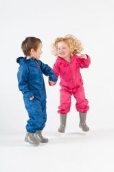 Lightweight, waterproof and breathable all-in-one suits for children up to 4 yrs