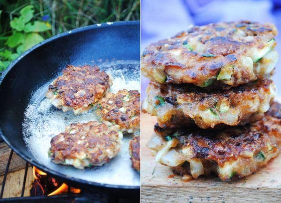 Bean and zucchini cutlets | VeganSandra