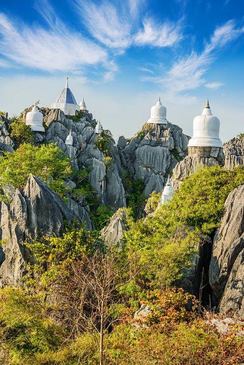 The 'Unseen' Temple Wat Chaloem Phra Kiat Phrachomklao Rachanusorn in Lampang, Northern Thailand