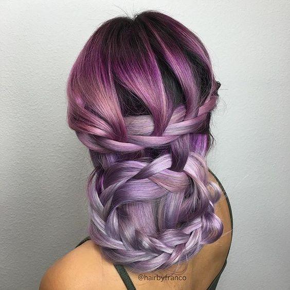 Braid it  Knot it   Stunning #hairspiration via @hairbyfranco