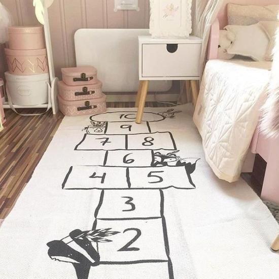 deco chambre enfant tapis