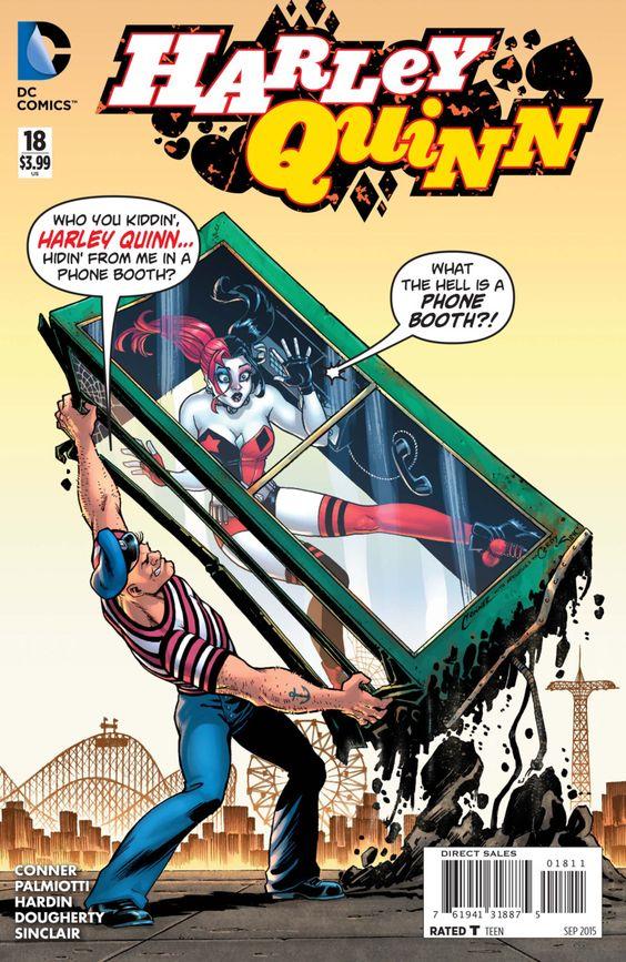 Harley Quinn #18 - Fish Food (Issue)