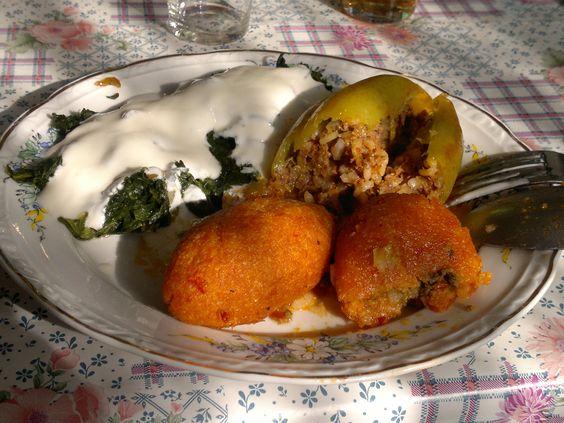 Gemüse Teller Mittagessen