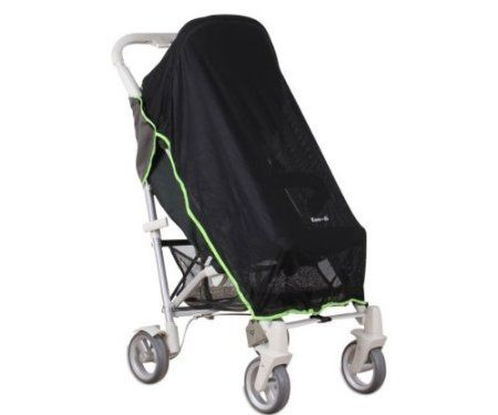 Koo-Di Pack It Universal Sun Mesh & Sleep Shade for Baby Pushchairs (Grey): Amazon.co.uk: Baby