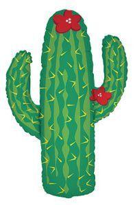 Cactus Shape Balloon,  fiesta party decor, fiesta, cactus, western party, cactus balloon