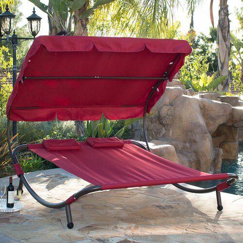 Bracken Double Chaise Lounge In 2020 Double Chaise Lounge Hammock Camping Backyard Hammock