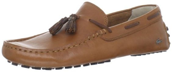 Lacoste Men's Concours Tass3 Tan Loafer - Luxurious, Elegant & Edgy!!!