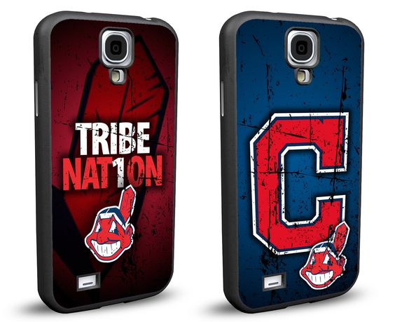 Cleveland Indians Cell Phone Hard Case TWO PACK for Samsung Galaxy S5, Samsung Galaxy S4 or Samsung Galaxy S4 Mini