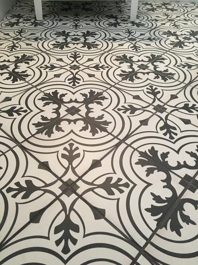 Merola Tile Twenties Vintage 7 3 4 In X 7 3 4 In Ceramic Floor And Wall Tile 11 Sq Ft Case Frc8twvt T Ceramic Floor Merola Tile Laundry Room Flooring