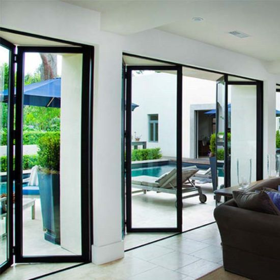 Aluminum Folding Doors Bifold Doors Patio Doors Design Door