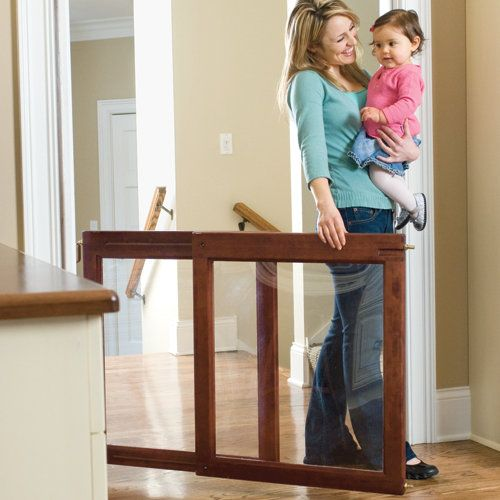 Clear Advantage Safety Gate By One Step Ahead A Baby