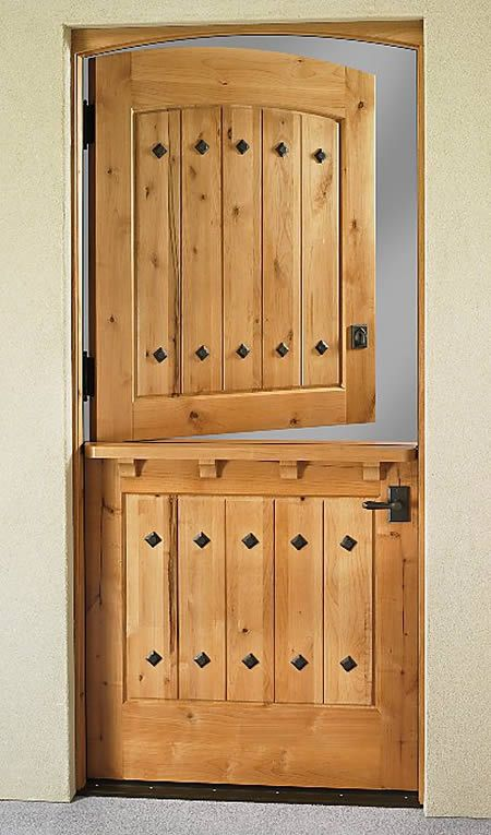 Dutch door! Must have! Why aren't these more popular?