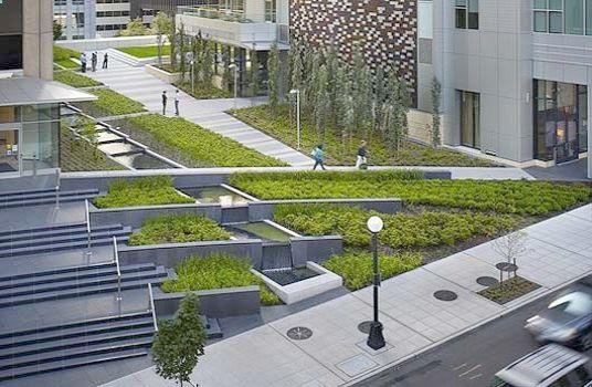 Modern Commercial Landscape Design Landscape Gardening Courses Leeds Unlike Urban Gard Urban Landscape Design Landscape Architecture Design Modern Landscaping