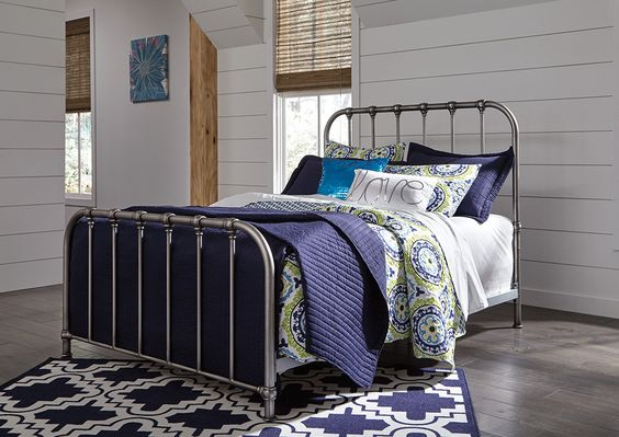 Nashburg Multi Twin Metal Bed Signature Design By Ashley Queen