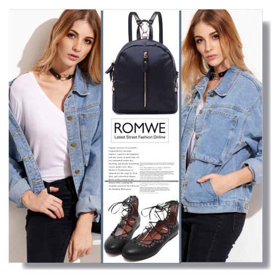 """Romwe!"" by aminkicakloko ❤ liked on Polyvore featuring Isabel Marant"