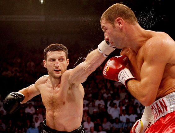 Carl Froch destroyed bute