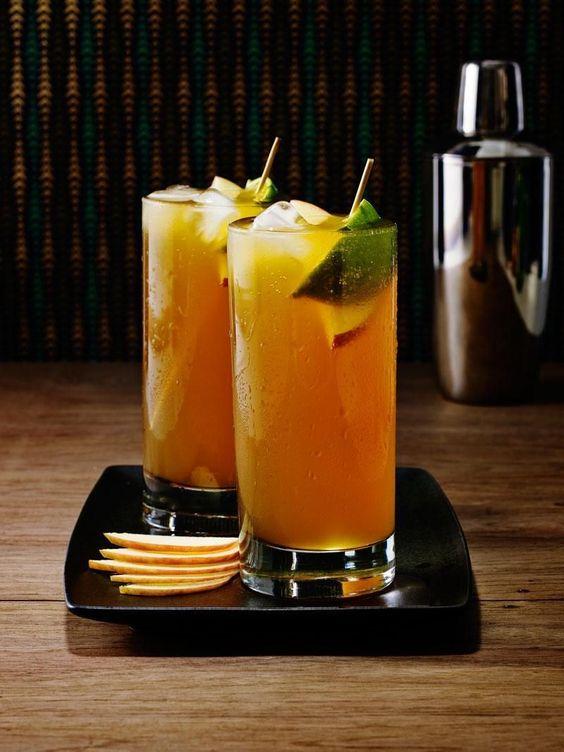 ... dark rum and hard cider. Our ingredients lighten up the cider and make