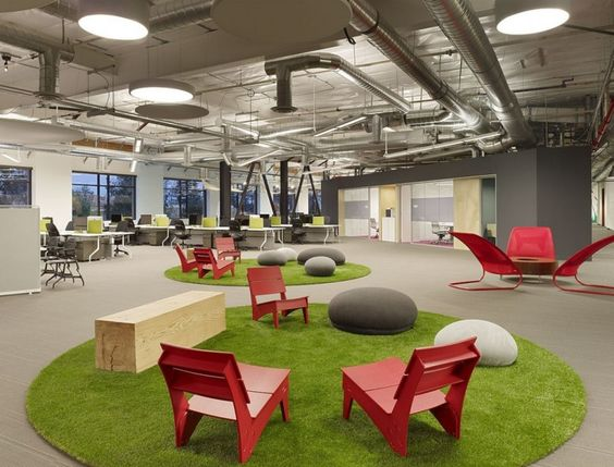 Vang Chair by Loll Designs in Skype's Palo Alto offices: Design Office, Office Design, Skype Headquarter