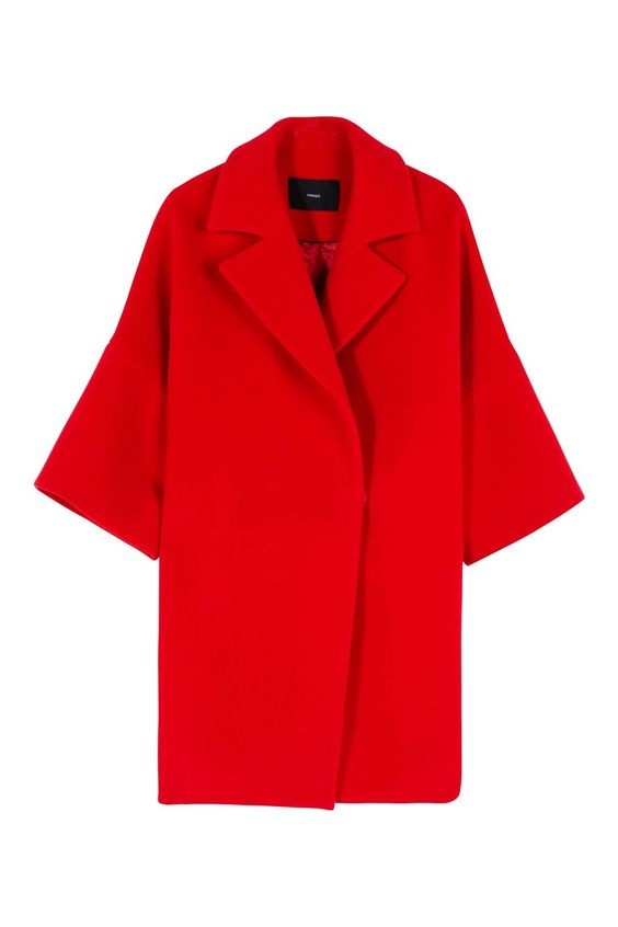 Affordable Women's Coats - Uterque Cocoon Coat