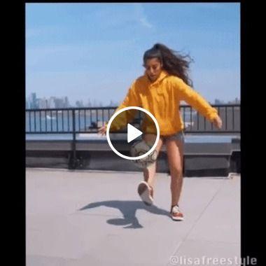 Moça surpreende o mundo com agilidade…