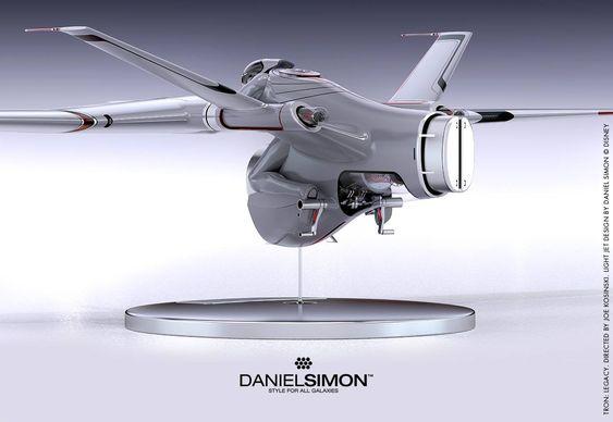 Tron: Legacy   Light Jet. Final Design Model by Daniel ...