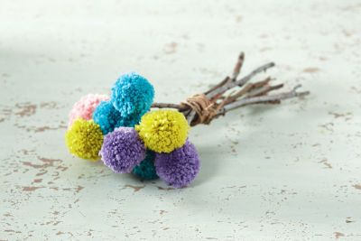 Bouquet de pompons Impeccable de Loops & Threads