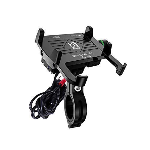 Réglable Porte pour Noir 1 MOSUO Support Téléphone Vélo Moto