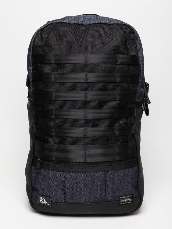 porter x isaora slingpack bag