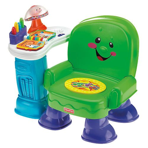 Fisher-Price Laugh u0026 Learn Song u0026 Story Chair - Fisher-Price - Toys