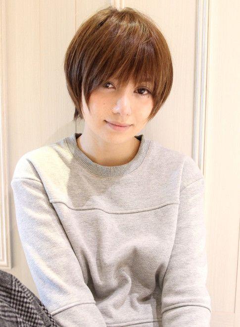 大人女子 田中美保さん風ショート 髪型 ヘアスタイル ヘアカタログ