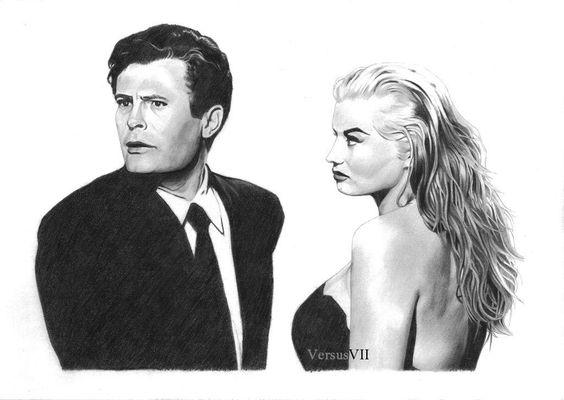 Marcello e Anita